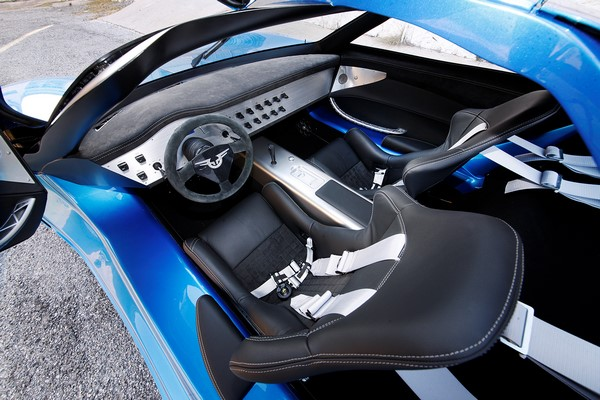 Con 1341 CV, el Toroidion 1MW se corona como el coche eléctrico más potente d