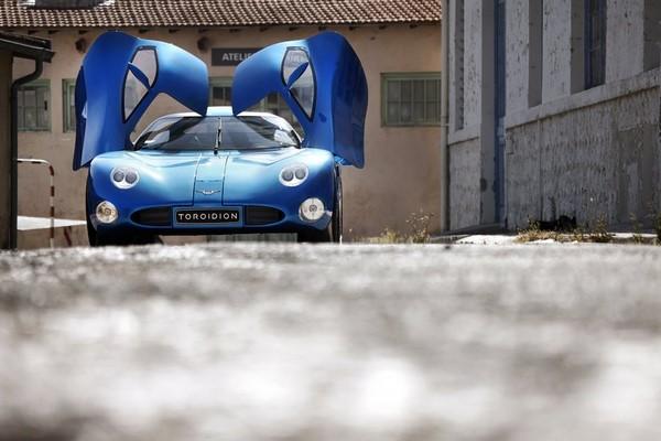 Con 1341 CV, el Toroidion 1MW se corona como el coche eléctrico más potente f