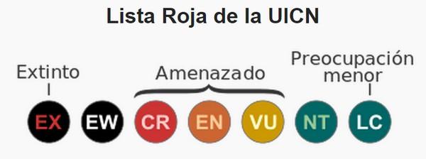 Qué es la Lista Roja de la UICN c