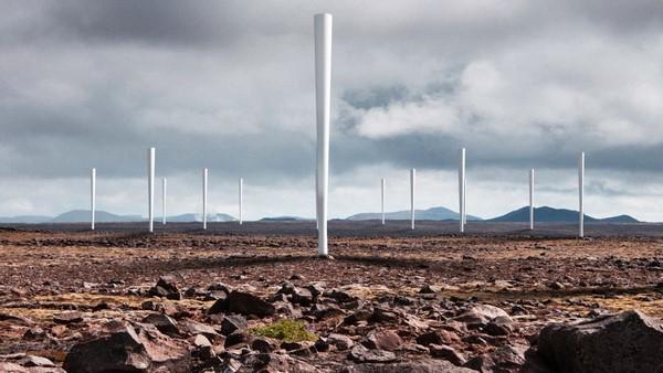 Vortex es un aerogenerador sin aspas de origen español b