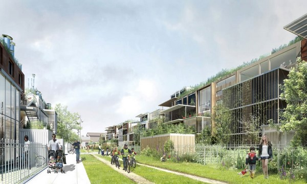 Colección de fotos de arquitectura sostenible ac