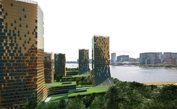 Colección de fotos de arquitectura sostenible c