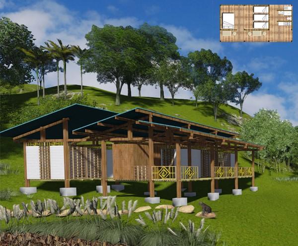 Colección de fotos de arquitectura sostenible d