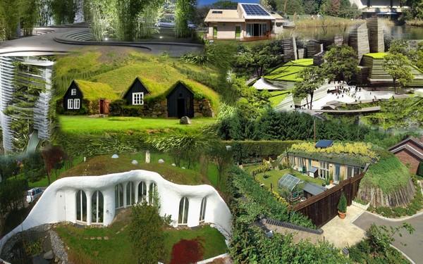 Colección de fotos de arquitectura sostenible t