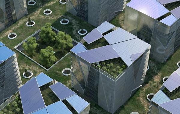 Colección de fotos de arquitectura sostenible u
