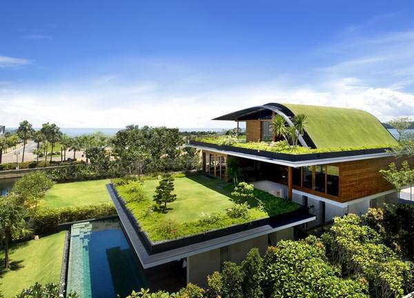 Colección de fotos de arquitectura sostenible y