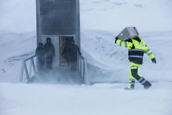 Svalbard Global Seed Vault p