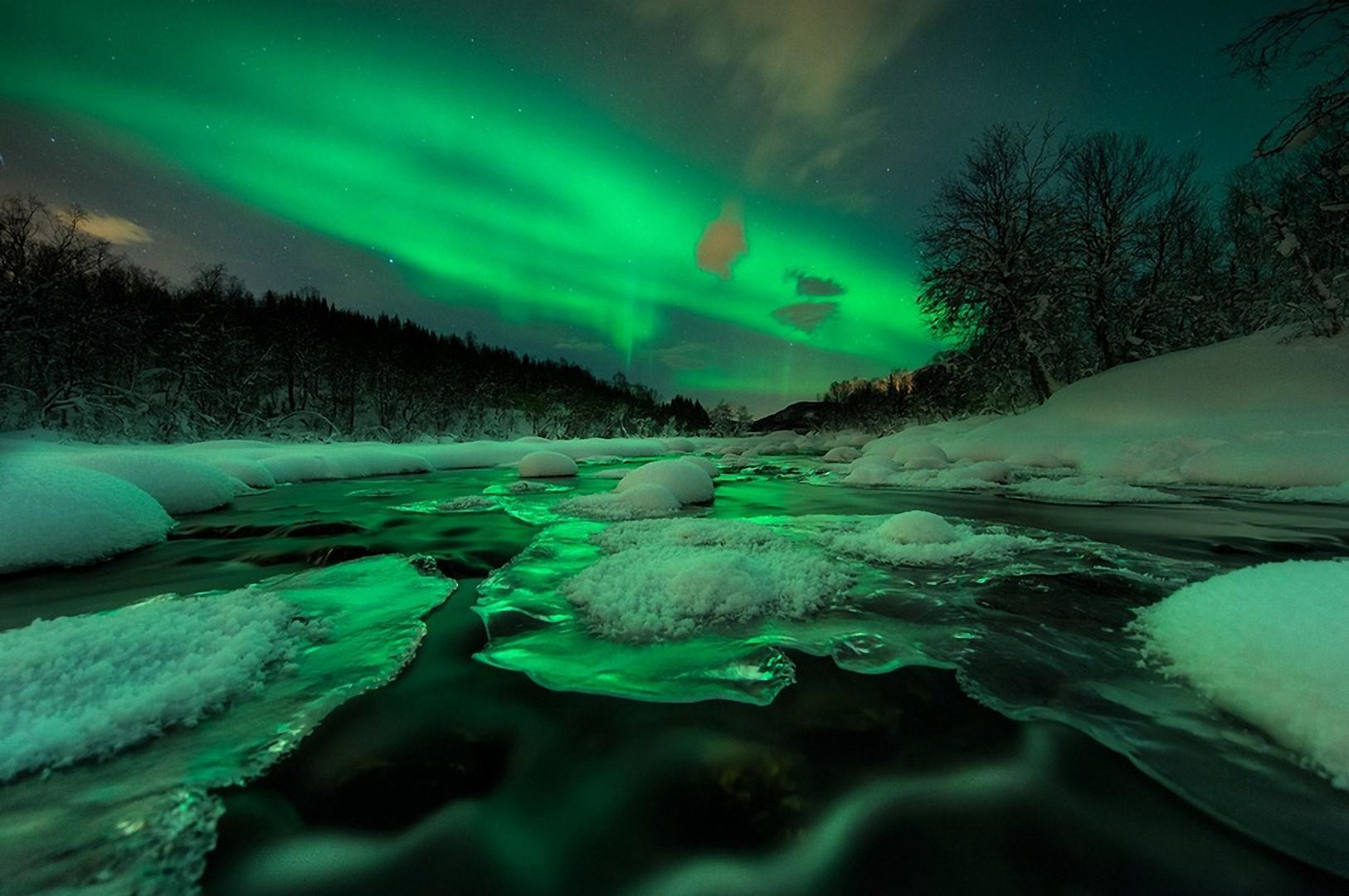 Aurora boreal ah