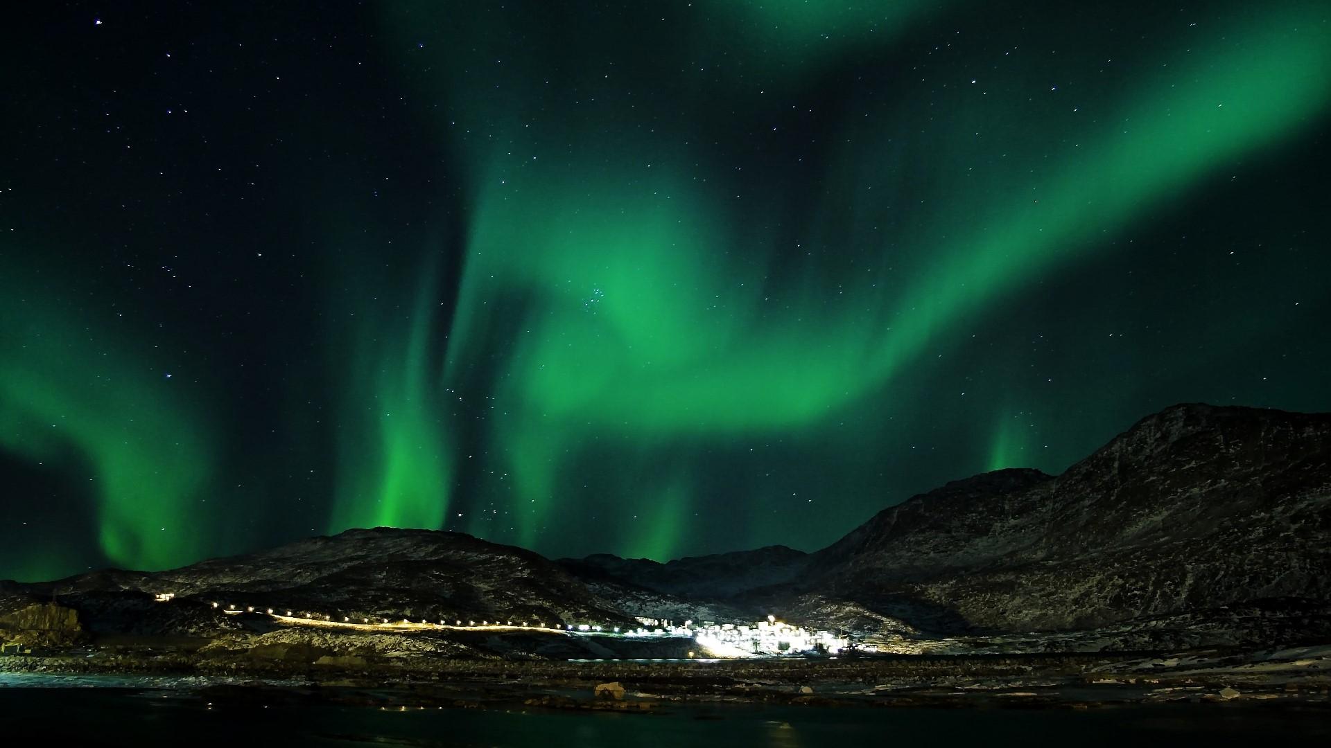 Aurora boreal ak