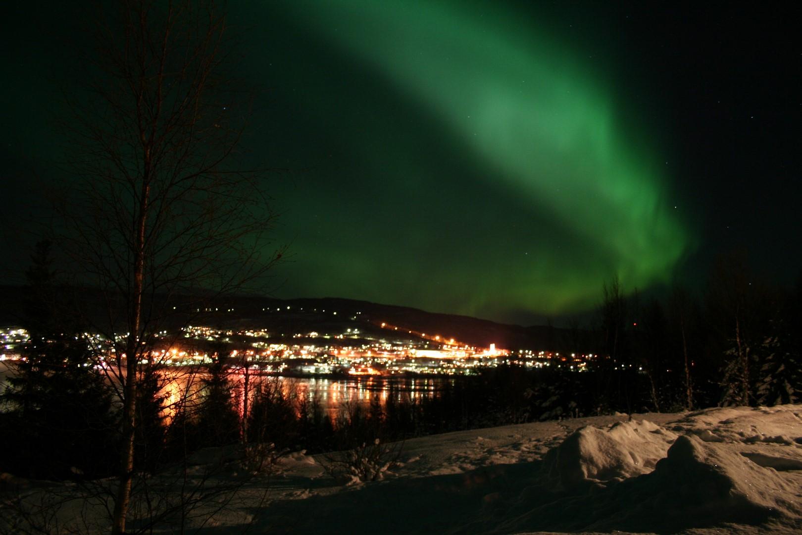 Aurora boreal am
