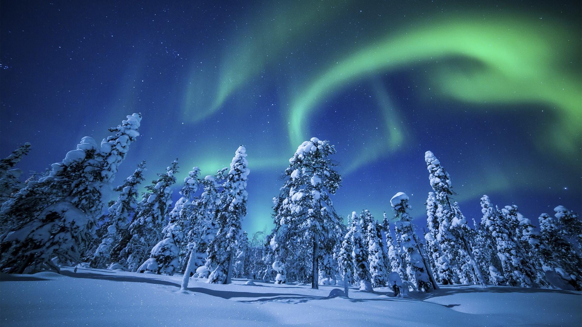 Aurora boreal as