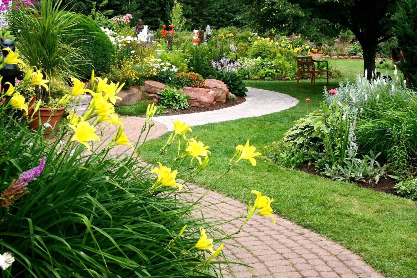 Fondos de pantalla de jardinería ae