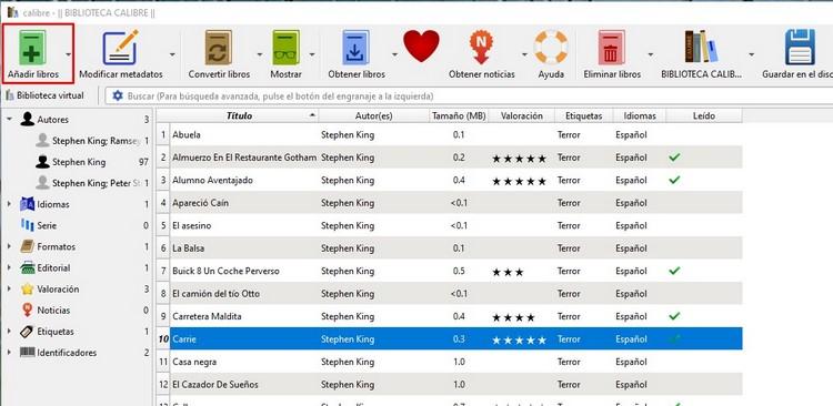 Descargar libros y eBooks gratis - Aprende a convertirlos, clasificarlos, etc.