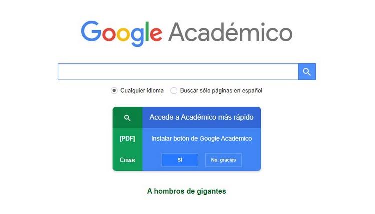 Google Académico (Google Scholar)