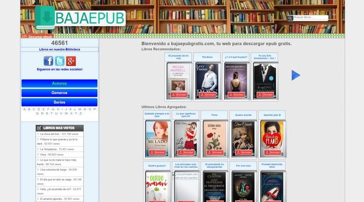 bajaepub Descargar libros y eBooks gratis